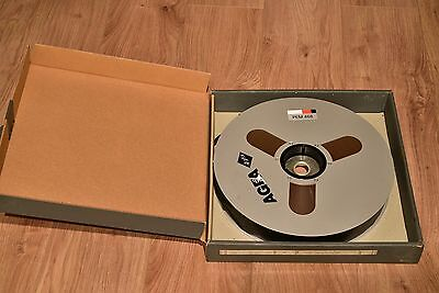 AGFA PEM 468 2 Inch Studio Master Analogue Tape 14 inch reel