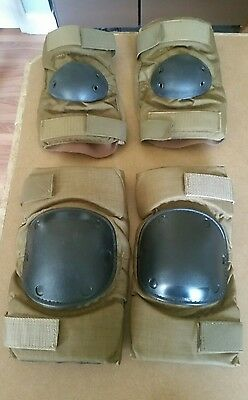 Tactical Elbow and Knee Pad Set - Coyote Tan