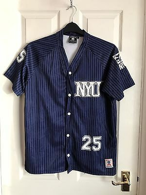 NCAA NYU Vintage Basketball Jersey Shirt Top Size L