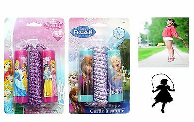 Disney Character Girls Skipping Jump Rope Frozen or Princess Outdoor Toy Gift