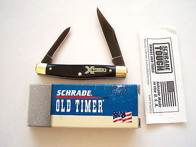 Usa Made Schrade Original X-Timer  24Otx  Folding Knife