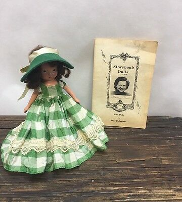 """Vtg 1940's Nancy Ann Story Book Doll 5-1/2"""" Bisque Wee Doll"""