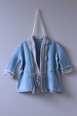 Antique Vintage 1930s Baby clothing Robe