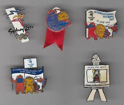SYDNEY 2000 OLYMPIC GAMES x 3 PINS --- CHOOSE THE PINS --- LOT 1