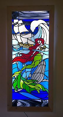 ILLUSTRATIVE STAINED GLASS ART LIGHT BOXES - Dark Waters