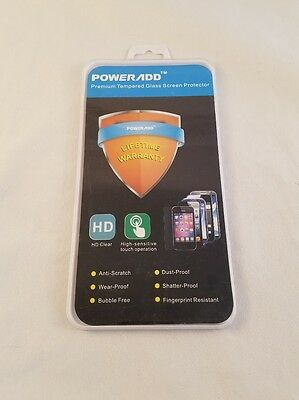 Whole sale lot poweradd premium tempered glass screen protector iPhone 6 (40 pc)