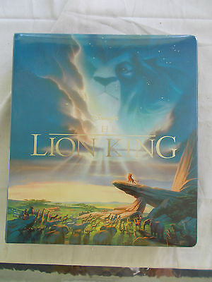 Large Collection Lion King Cards In Notebook Series I, II, Special Cards, Pogs