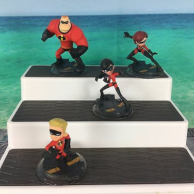 Disney Infinity The Incredibles Lot Of (4) Different Video Game Figures Free S/H