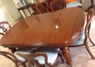 Mahogany Dining Table - Extension Table