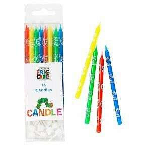 Hungry Caterpillar Candles (Pack of 16)