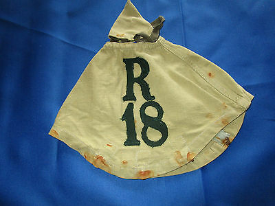 WWI GERMAN PICKELHAUBE SPIKE HELMET COVER 18th INF rgt MUSEUM QUALITY REPRO