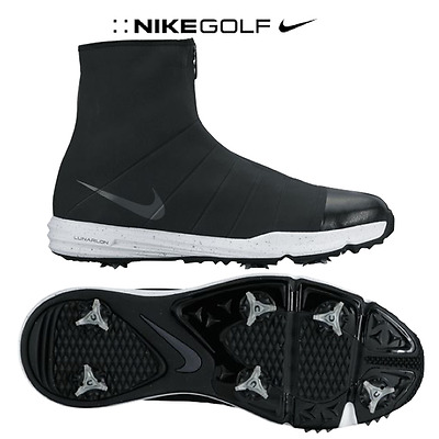 New Nike Lunar Bandon 3 Water Proof Golf Shoes/ Cleats Size 10 Free Shipping