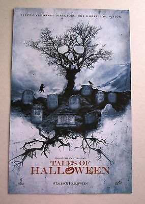 Tales of Halloween / Old 37 Movie Promo Poster Fan Expo Comic Con 2015 11 x 17