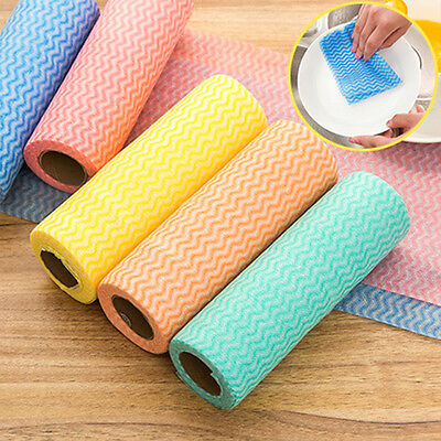 Creative Disposable Non-woven Fabric Kitchen Cleaning Cloth Dish Bowl Dishcloth