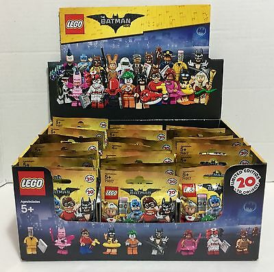 LEGO Batman Movie. 60 NEW Figures In Sealed Packs! - 71017 NO BOX