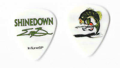 Shinedown Eric Bass color/white guitar pick