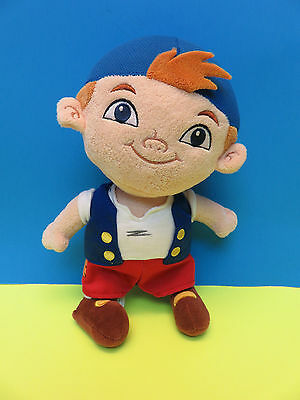 "DISNEY STORE 11"" Plush CUBBY Jake And The Never Land Pirates PETER PAN Doll Boy"
