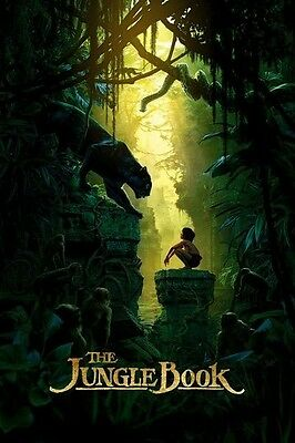 The Jungle Book DVD 2016 Disc Only,Family,Adventure Disney Authentic Live Action