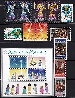 Stamps Christmas Island - Mixed Lot - Mint.