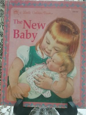 THE NEW BABY  Little Golden Book 1994 (VGC)