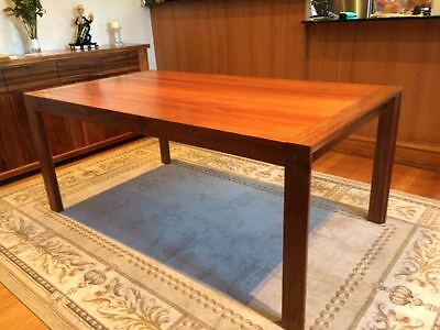 Solid Tasmanian Blackwood Dining Table and 6 Chairs