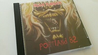 Iron Maiden Concert CD Portland USA The Number of the beast tour 1982