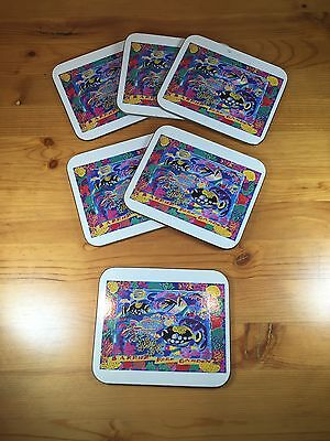 Australia Coasters Barrier Reef Garden Set Of 6 Souvenirs