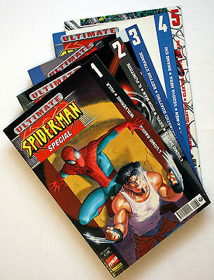 Ultimate Spiderman Special - Voll. 1, 2, 3, 4, 5 - Serie completa, Panini Comics