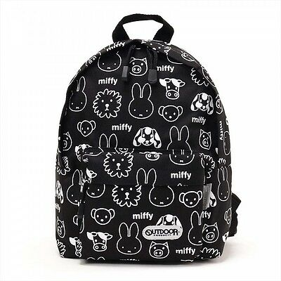NEW OUTDOOR PRODUCTS BackPack DayPack MIFFY for Kids BN801 BLACK From Japan F/S