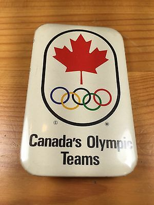 Vintage Canada's Olympic Teams Button Pin Badge 1967 1968 Official Maple Leaf