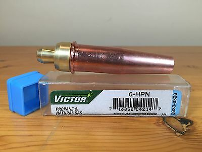 Victor Propane Natural Gas Cutting Torch Tip 6-HPN