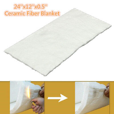 24''x12''x0.5'' Silicate High Temperature Insulation Ceramic Fiber Blanket