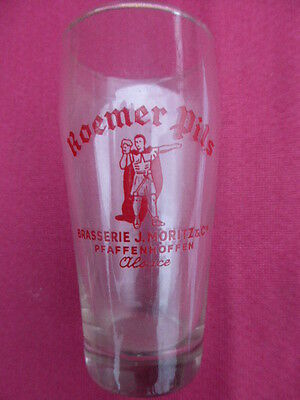 Verre a Biere  ROEMER PILS ALSACE  collection  /