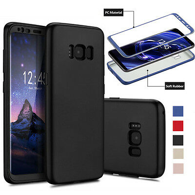 For Samsung Galaxy S8 Plus Shockproof Hybrid TPU Soft Rubber Bumper Case Cover