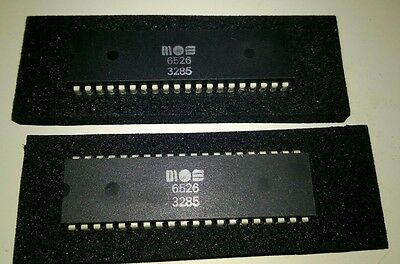 Commodore 64 C64 6526 CIA chips x 2