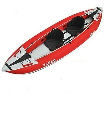 Z pro Tango TA200 Two Man Double Inflatable Canoe Red