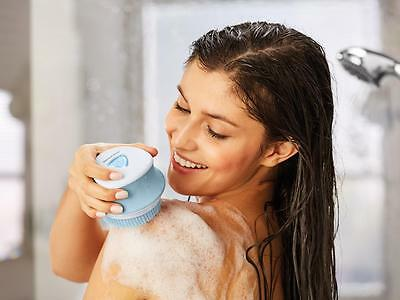 SilverCrest Electric WET & DRY ROTATING Body Brush ~ Home Device~For smooth Skin