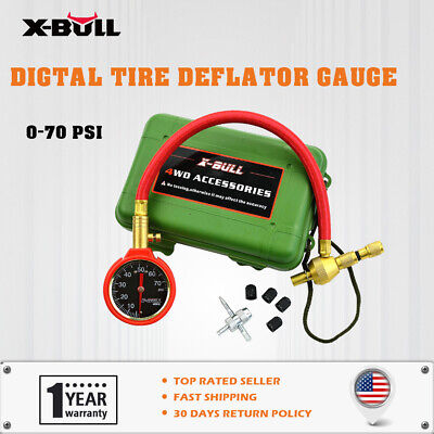 X-BULL Tire Deflator Rapid Digital Tyre Quick Air Pressure Recovery Gear Gauge