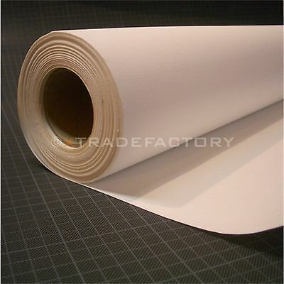 "INKJET PRINTING CANVAS ON ROLL 260GSM COTTON | 44""x49 ft for digital printing"