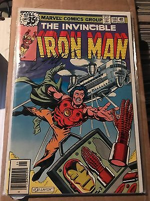 Iron Man 118 First Jim Rhodes Signed By Bob Layton Snr