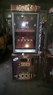 coin operated game of skill time buster