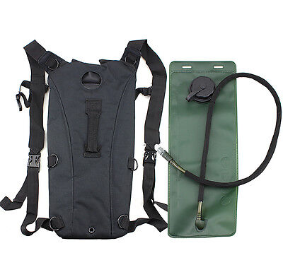 3L Hydration System Water Bag Pouch Backpack Bladder Hiking KL