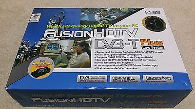 Dvico Fusion HDTV DVB-T Plus Low Profile Digital TV Tuner and Video Capture Card