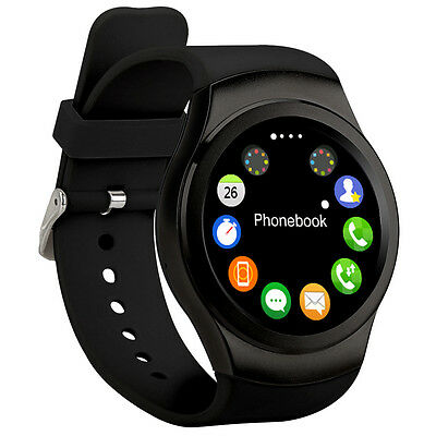 3G KW88 Bluetooth Smart Watch Android Sim GPS WIFI SIM for Android iPhone