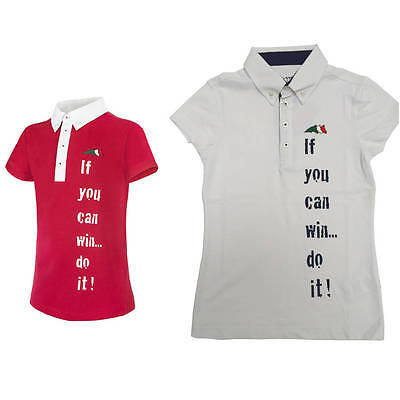 Equiline Aladin Competition Shirt 8/9