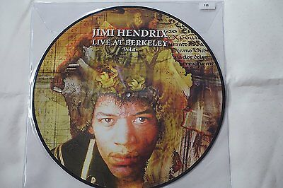 JIMI HENDRIX Live At Berkeley VOL.1 -LP Picture disc -Ltd.Ed. Num To 500 Copies