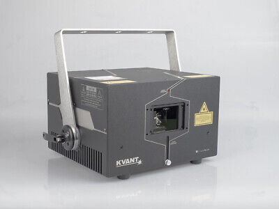 Kvant ClubMax 2000 RGB High-End Showlaser mit 40k Scanner Max Compact 506, 1800