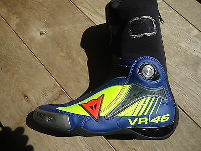 1 Motorradstiefel LINKS Gr.43 Dainese R Axial Pro In Replia D1 Valentino Rossi