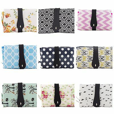 Nappy Changing Bag Clutch style Baby Diaper Bags Compact Change Kit & Organiser