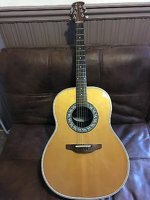 Ovation Ultra 1512 USA made electro acoustic guitar